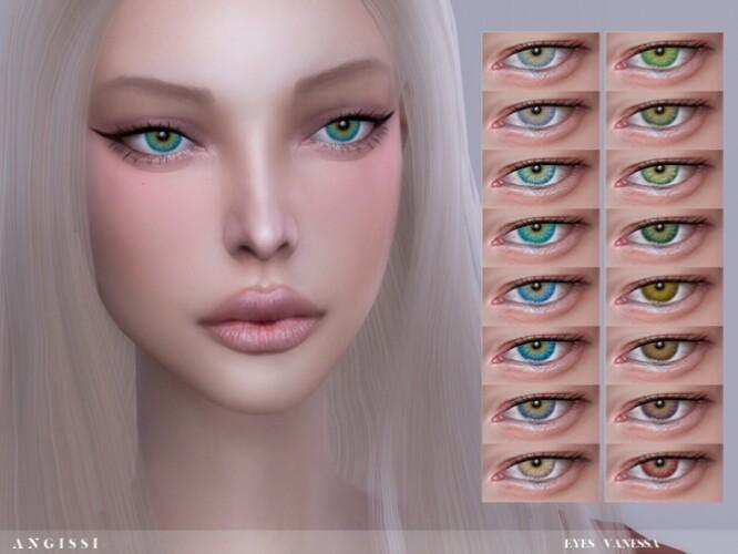 Vanessa eyes by ANGISSI