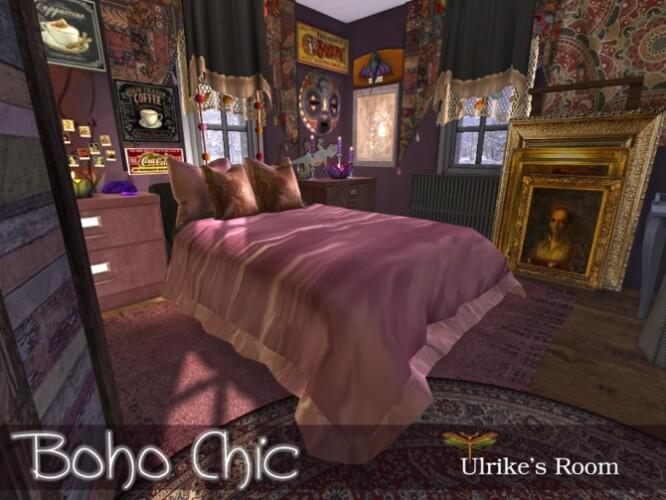 Boho Chic Ulrikes Bedroom by fredbrenny