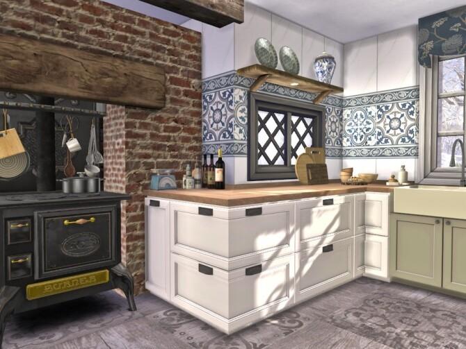 Boho Chic Kitchen by fredbrenny at TSR image 60 670x503 Sims 4 Updates