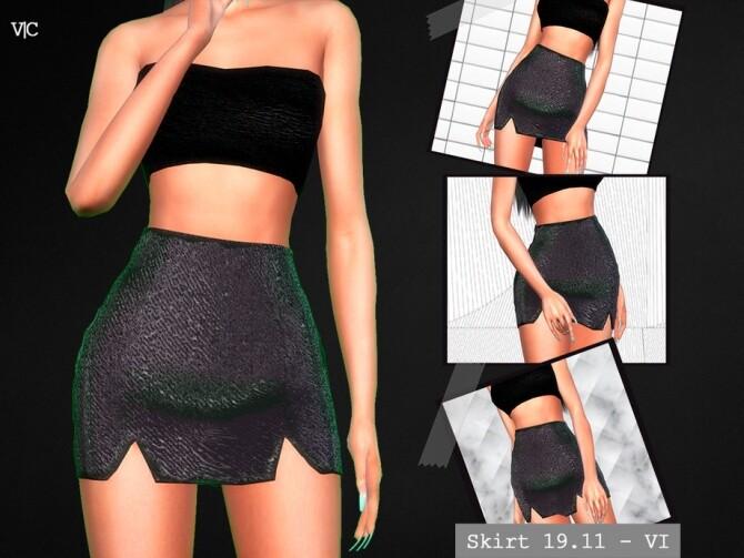 Sims 4 Skirt 19.11 VI by Viy Sims at TSR