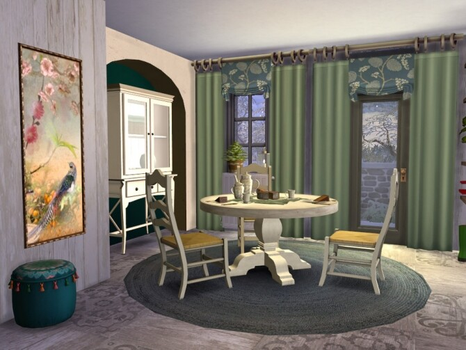Boho Chic Kitchen by fredbrenny at TSR image 61 670x503 Sims 4 Updates