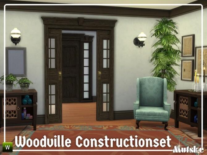Sims 4 Woodville Construction set Part 5 by mutske at TSR