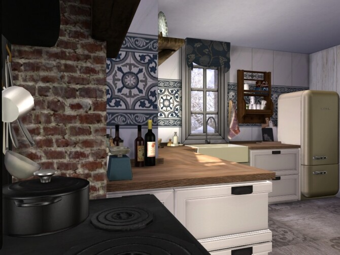 Boho Chic Kitchen by fredbrenny at TSR image 62 670x503 Sims 4 Updates