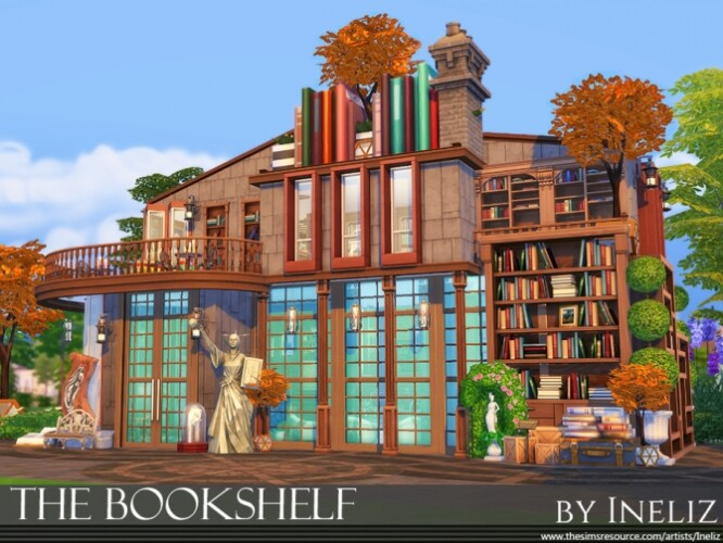 The Bookshelf by Ineliz