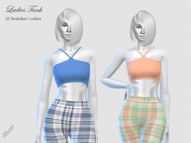 Sims 4 Ladies Tank by pizazz at TSR