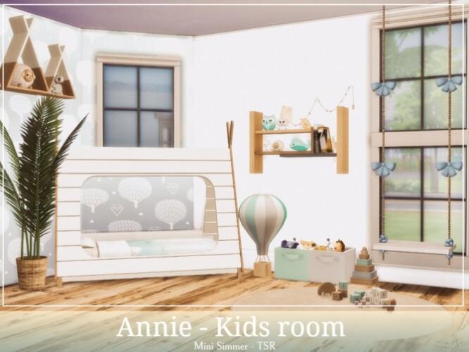 Annie Kids room by Mini Simmer