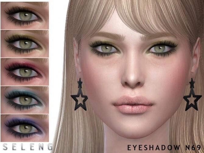 Sims 4 Eyeshadow N69 by Seleng at TSR