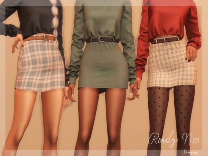 Skirt Fall Collection BT364 by laupipi