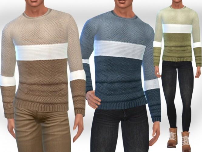 Male Sims Sweaters by Saliwa