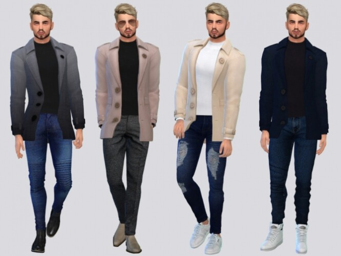 Duhamel Fall Trench Coat by McLayneSims