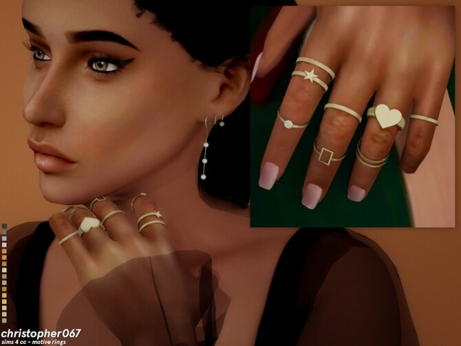 Sims 4 Motive Rings by Christopher067 at TSR