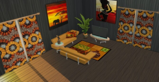 Vendi Living room at LIZZY SIMS image 6616 670x345 Sims 4 Updates