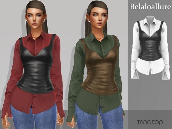 Belaloallure Trina top by belal1997