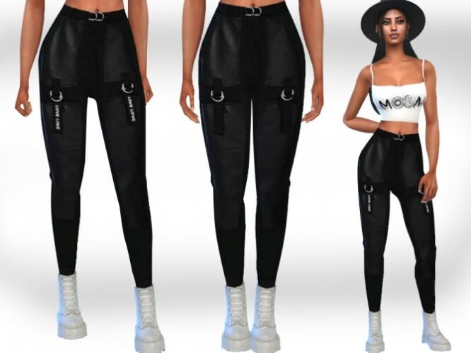 Trendy Casual Pants by Saliwa