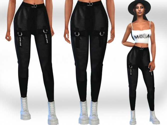 Sims 4 Trendy Casual Pants by Saliwa at TSR