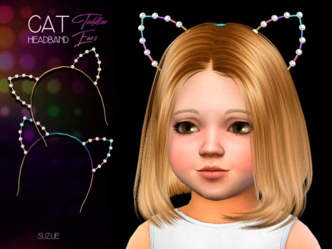 Cat Toddler Headband by Suzue