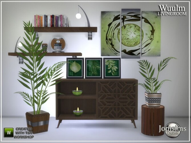 Wuulm living room part2 by  jomsims at TSR image 6712 670x503 Sims 4 Updates