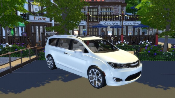 Sims 4 Chrysler Pacifica at LorySims
