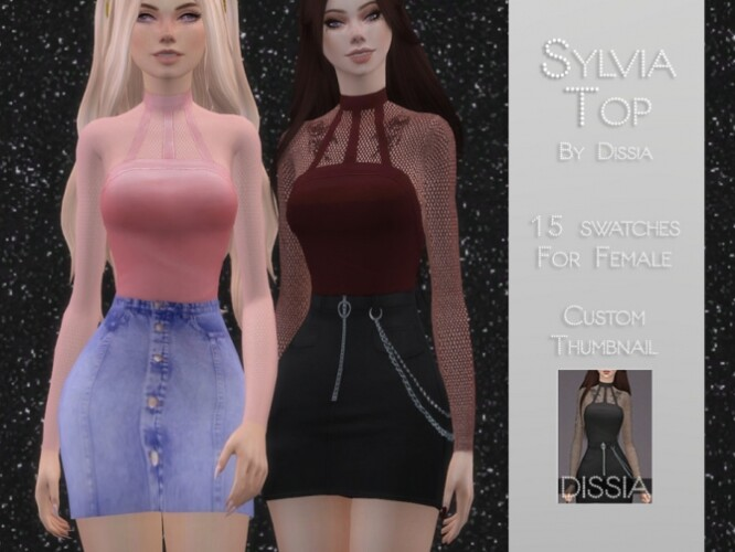 Sylvia Top by Dissia