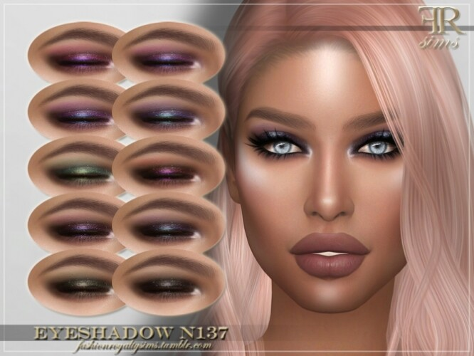 FRS Eyeshadow N137 by FashionRoyaltySims