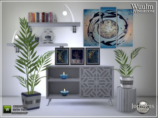 Wuulm living room part2 by  jomsims at TSR image 6814 670x503 Sims 4 Updates