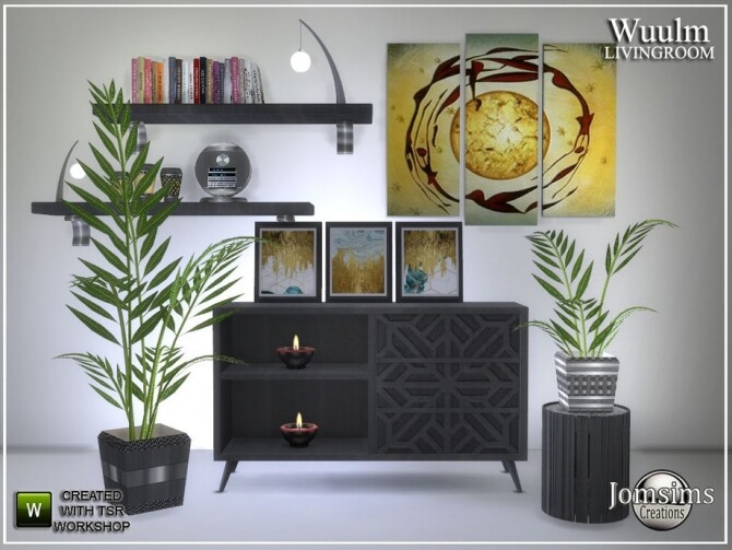 Wuulm living room part2 by  jomsims at TSR image 6914 670x503 Sims 4 Updates