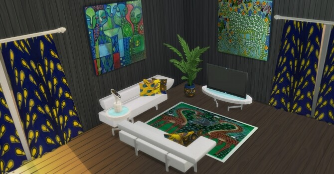 Vendi Living room at LIZZY SIMS image 6917 670x349 Sims 4 Updates