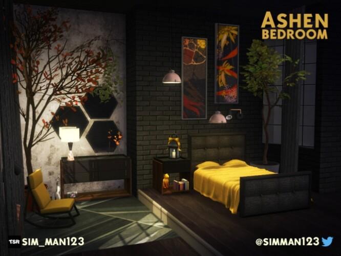 Ashen Bedroom by sim_man123