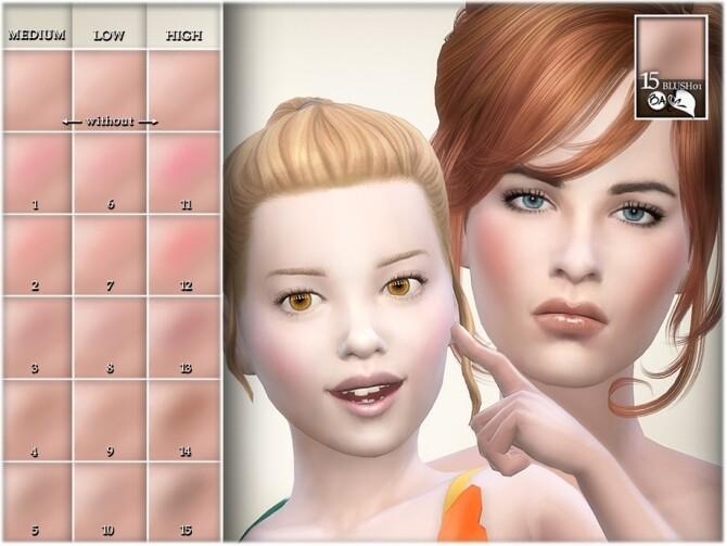 Sims 4 Blush by BAkalia at TSR