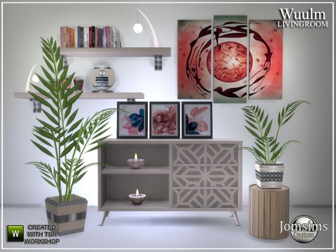 Wuulm living room part2 by  jomsims at TSR image 7014 670x503 Sims 4 Updates