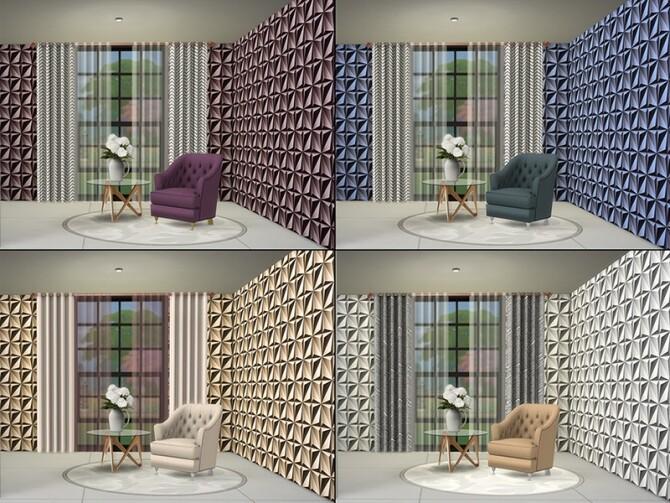 MB Stylish Stucco Direction by matomibotaki at TSR image 7113 670x503 Sims 4 Updates