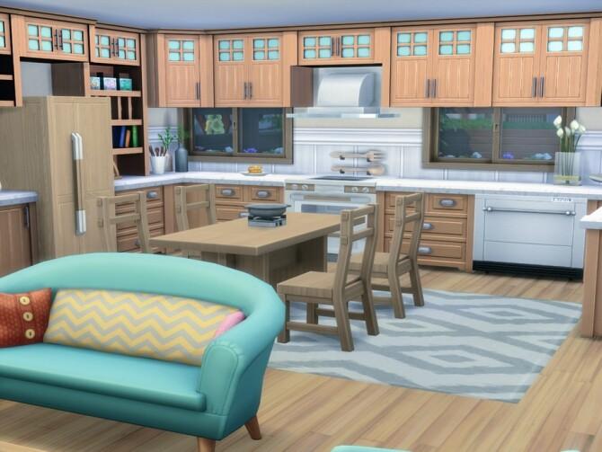 Sims 4 Wakabmori Single house by LJaneP6 at TSR