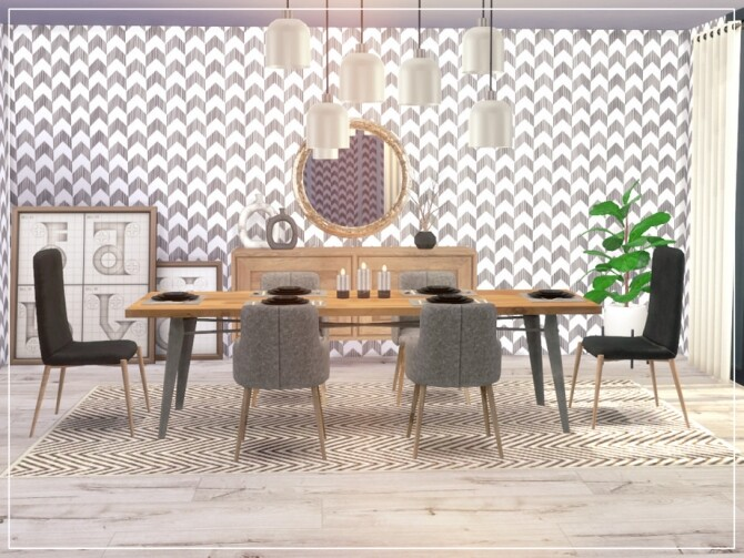 Fine Dining ROOM by Summerr Plays at TSR image 712 670x503 Sims 4 Updates