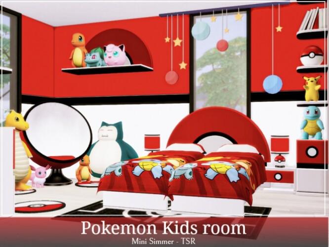 Pokemon Kids room by Mini Simmer