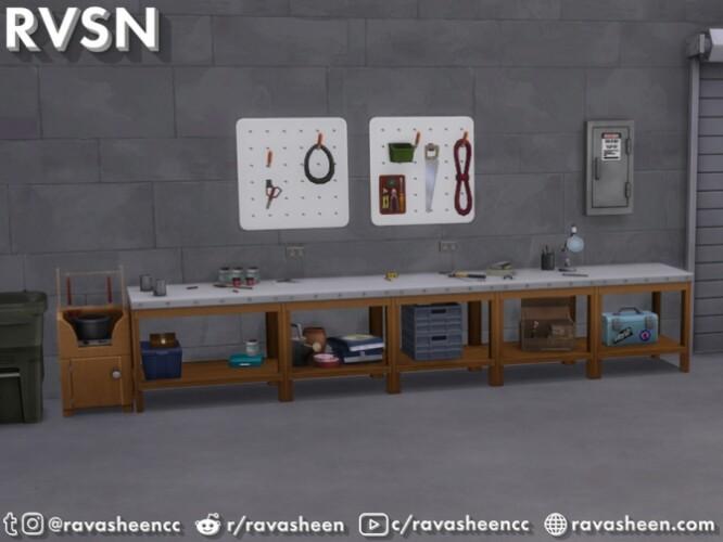 Tool Time Garage Set by RAVASHEEN