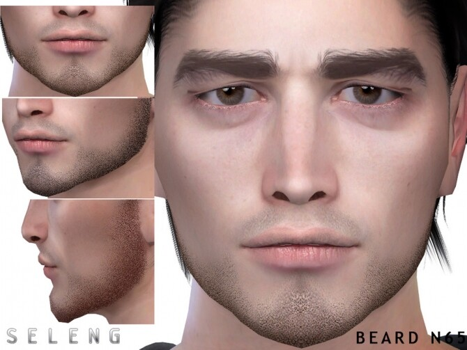 Sims 4 Beard N65 by Seleng at TSR