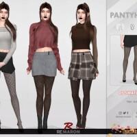 Autumn Pantyhose 01 by remaron