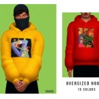 Oversized Hoodie M by OranosTR