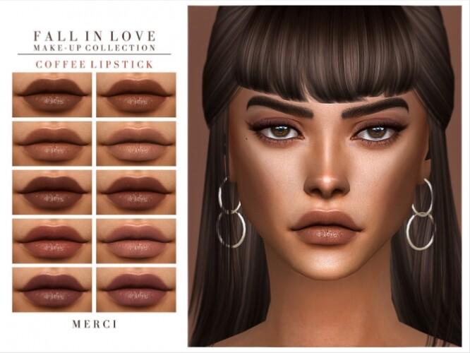 Coffee Lipstick by Merci