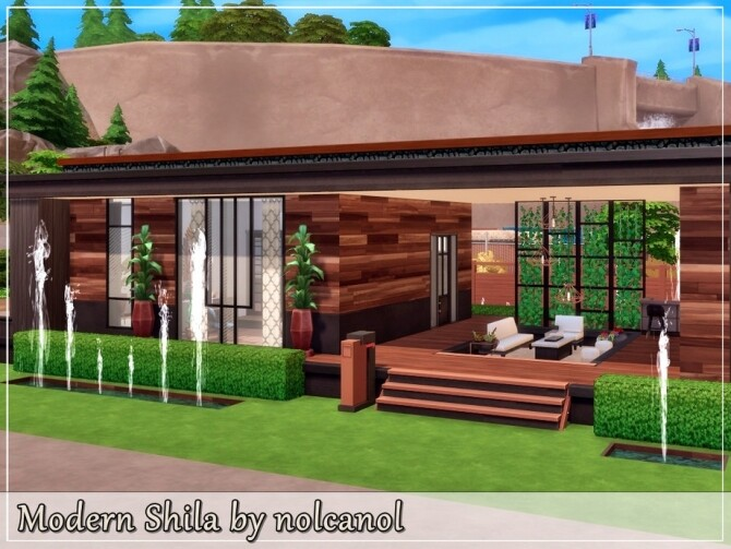 Modern Shila house by nolcanol