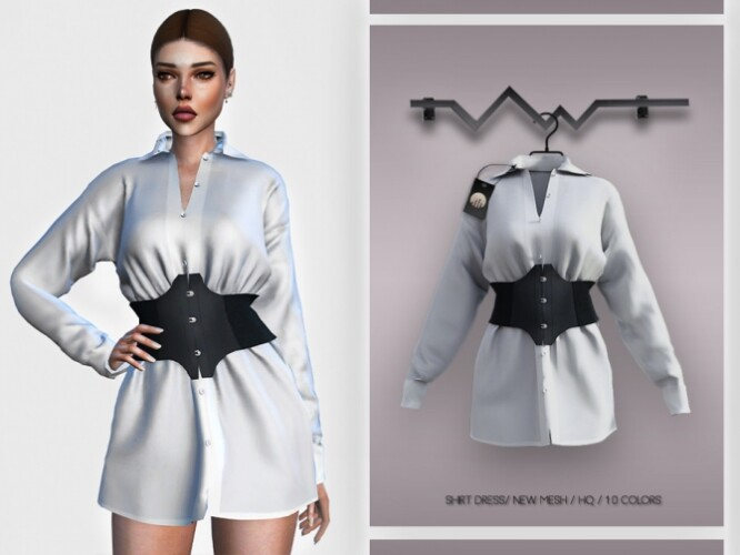 Shirt Dress BD360 by busra-tr