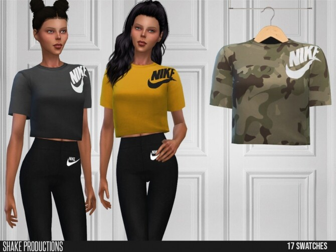 Sims 4 569 T Shirt by ShakeProductions at TSR