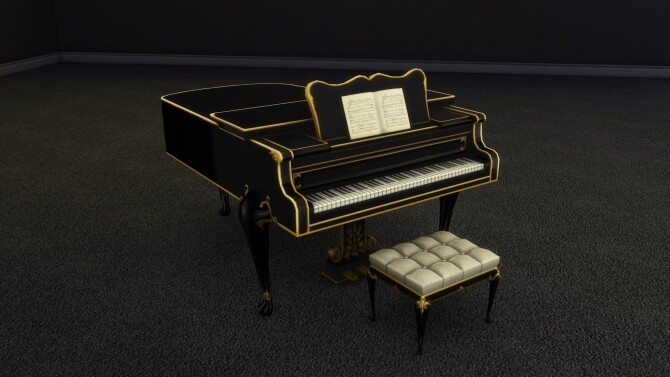 Elegant Buyable Classical Piano by xordevoreaux