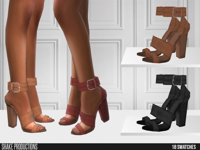 556 High Heels by ShakeProductions at TSR image 777 670x503 Sims 4 Updates