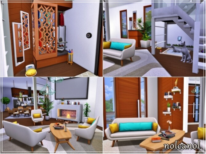 Modern Lori Home by nolcanol at TSR image 78 670x503 Sims 4 Updates