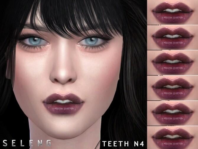 Sims 4 Teeth N4 by Seleng at TSR
