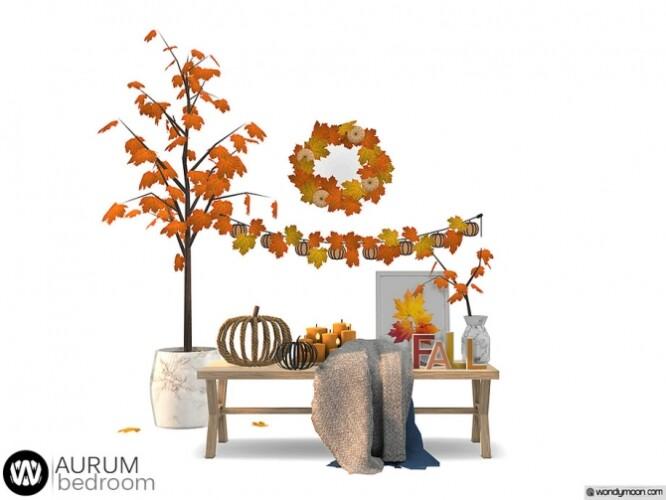 Aurum Bedroom Decorations by wondymoon