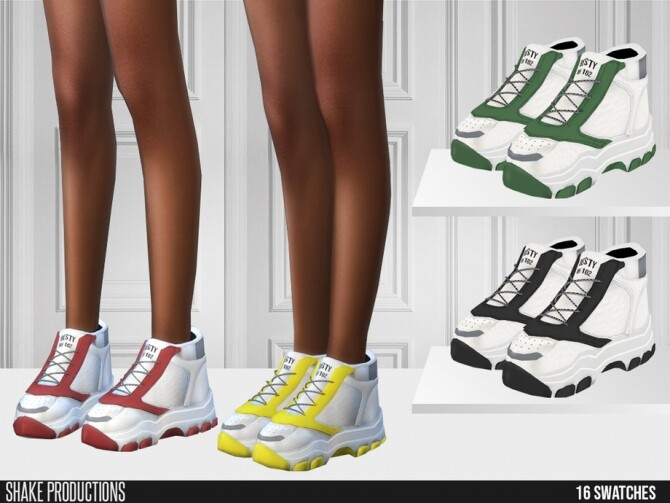 558 Sneakers by ShakeProductions at TSR image 8112 670x503 Sims 4 Updates