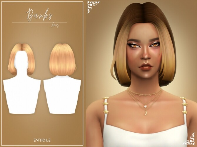 Banks Hairstyle by Enriques4 at TSR image 8311 670x503 Sims 4 Updates