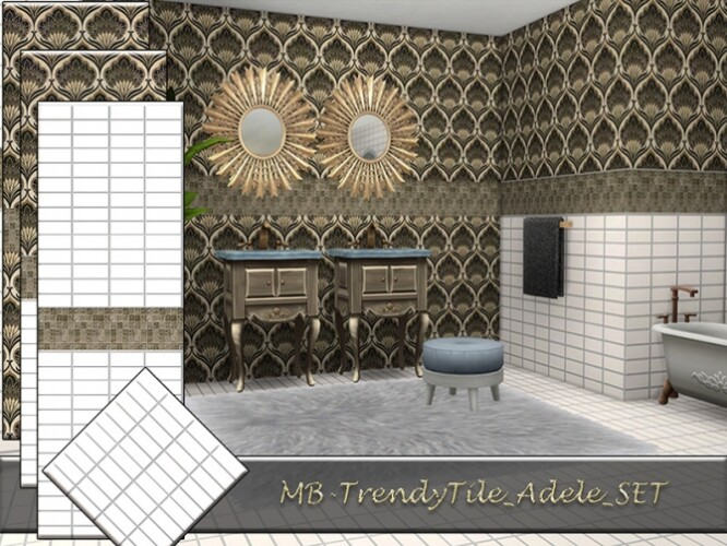 MB Trendy Tile Adele SET by matomibotaki